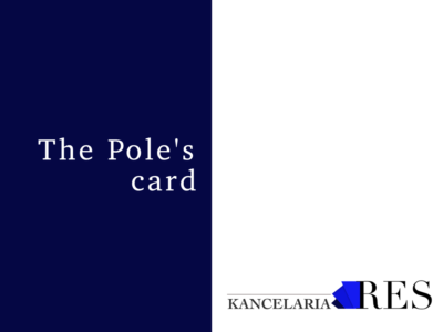 The Pole's card